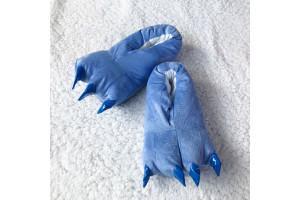 Синие тапочки