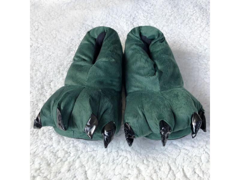 Зелёные тапочки