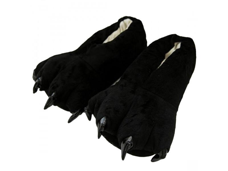 Чёрные тапочки