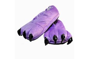 Фиолетовые тапочки